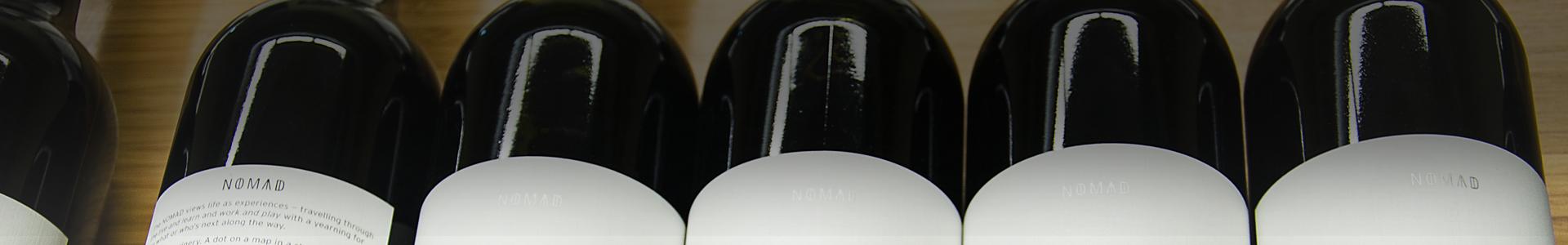 Nomad at HinterBrook Winery Retail Display Shorty